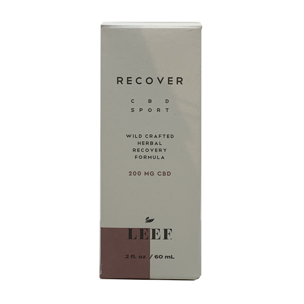 Leef Recover CBD Sport Product